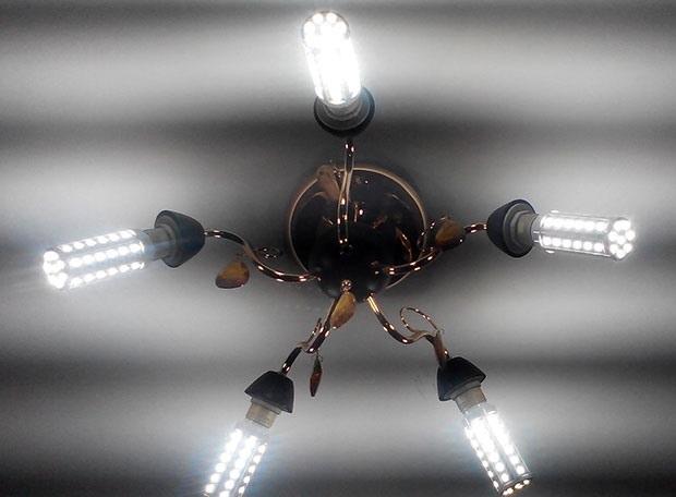 Мигание светодиодных ламп