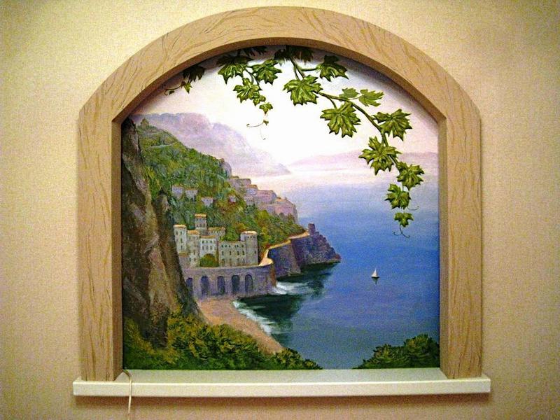 Фальш-окно с морем