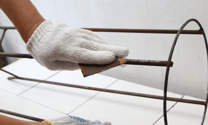 Подготовка основания торшера