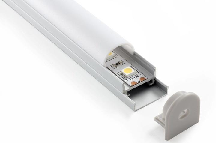Алюминиевый профиль для установки светодиодной ленты