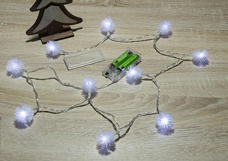 Гирлянда от батарейки