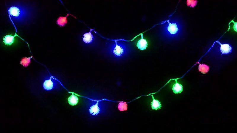 Пример светодиодной гирлянды