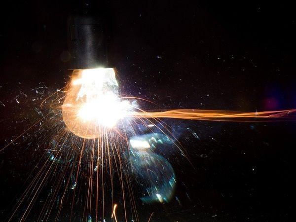 Взрыв лампы