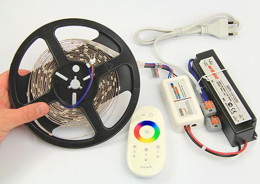 Блок питания и контроллер для светодиодной ленты