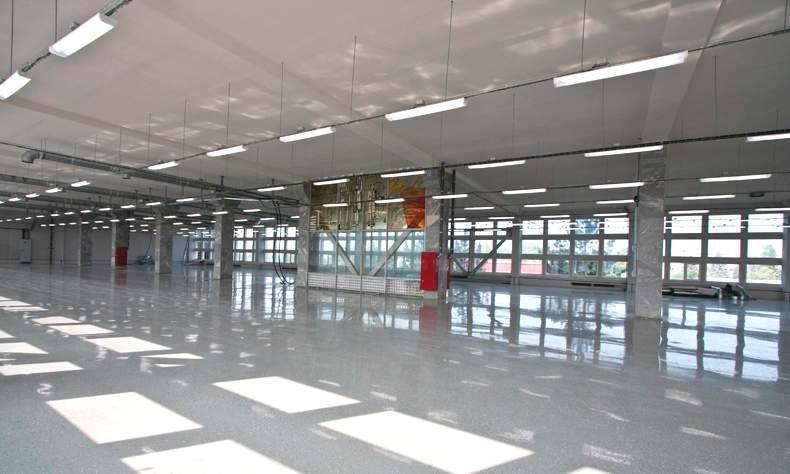 Освещение производственного помещения светодиодными светильниками