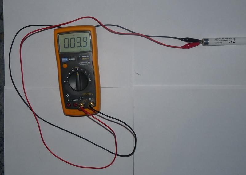 Проверка спиралей электродов мультиметром