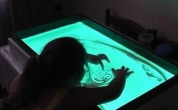 Стол для рисования песком своими руками