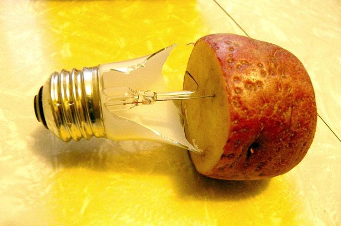 Картошка для вытаскивания цоколя