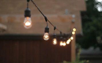 Гирлянда из лампочек накаливания своими руками