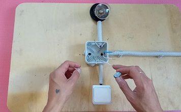 Как подключить лампочку через выключатель