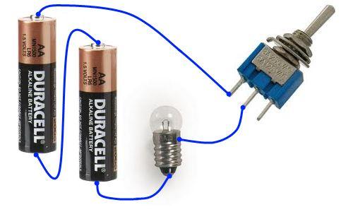 Питание от батареек