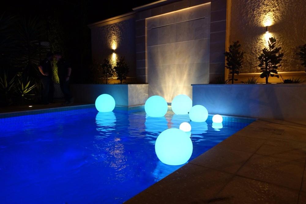 Светильники на воде