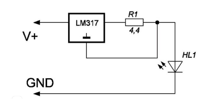 Схема линейного управления
