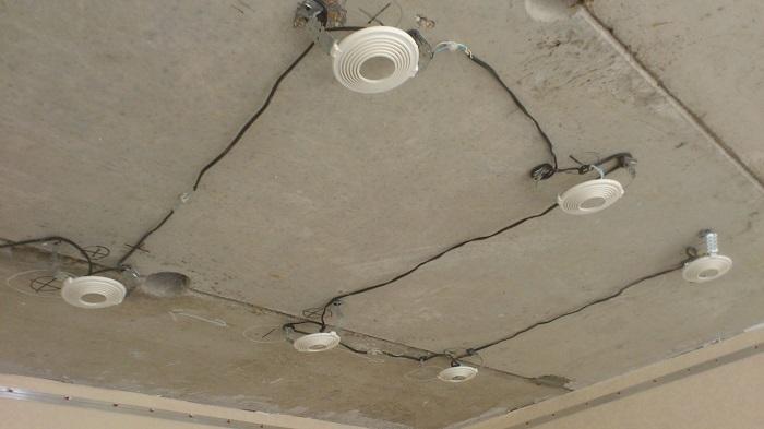 Прокладка провода