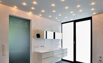 Сколько точечных светильников нужно на комнату?