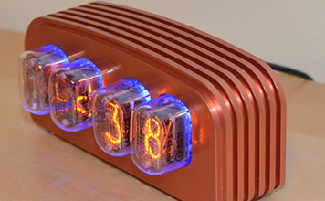 Часы на газоразрядных лампах своими руками